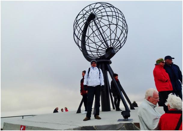 Na oficjalnym północnym końcu Europy. Nordkapp