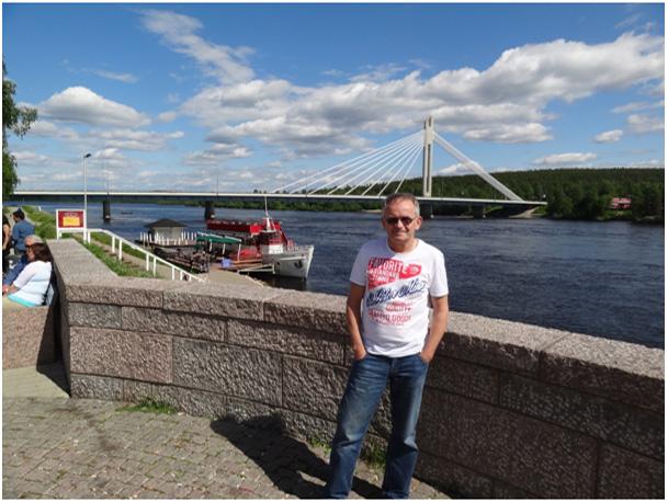 Rovaniemi nad rzeką Kemijoki