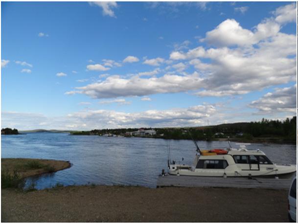 Jezioro Inarijarvi to centrum wędkarstwa w fińskiej Laponii