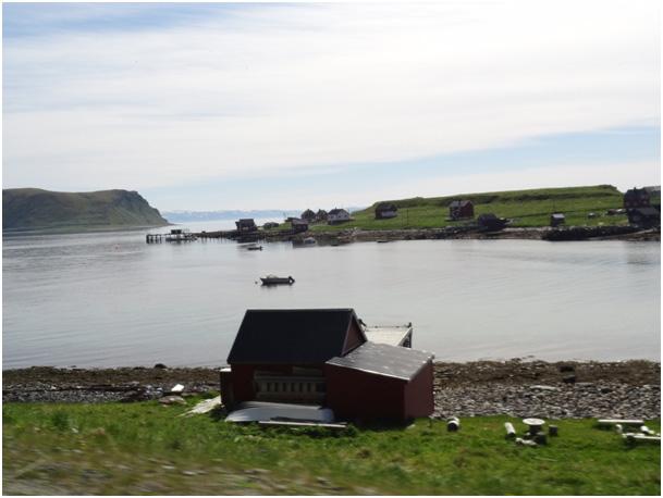 widok na Porsangerfjord