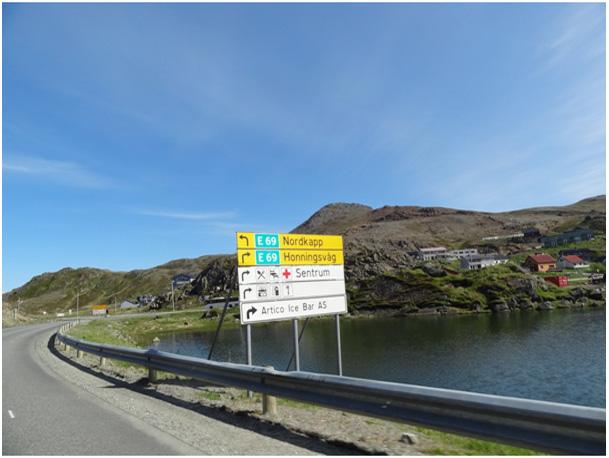 w drodze na Nordkapp
